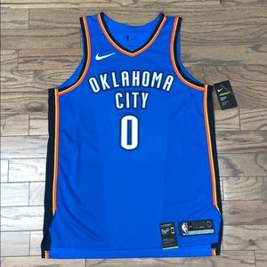 Oklahoma City Thunder Russell Westbrook Jersey